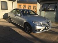 2009 Mercedes C320 Sport CDI V6 4 Door Saloon Hi Spec Sat Nav leather etc etc