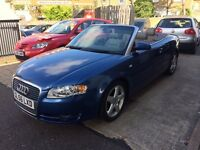 Audi A4 CABRIOLET 2.0 TFSI Sport Multitronic 2dr LEATHER/FULL SERVICE JUST DONE