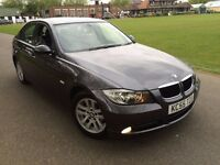 BMW 320I SE AUTOMATIC 2006 LOW MILEAGE 1 FORMER OWNER FULL LEATHER FULL BMW HISTORY 11 MONTHS MOT