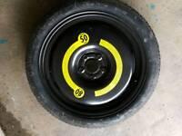 Audi vw space saver tyre