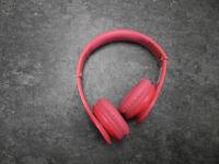 **Dr. Dre Beats Headphones Solo HD Pink w/case**