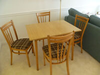 Retro Style Formica Table & 4 Chairs