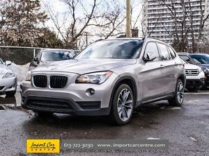 2013 BMW X1 28i Sport and Premium packages