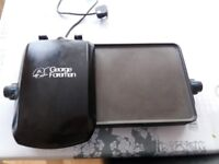 George Foreman 10-portion Non-stick Entertaining Grill and Griddle, 2180 W, Black