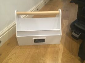 Box for Books with Handle. Book Storage
