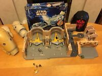 STAR WARS - Micro Machines - Episode 1 Figures and Playsets - Palace and Droids