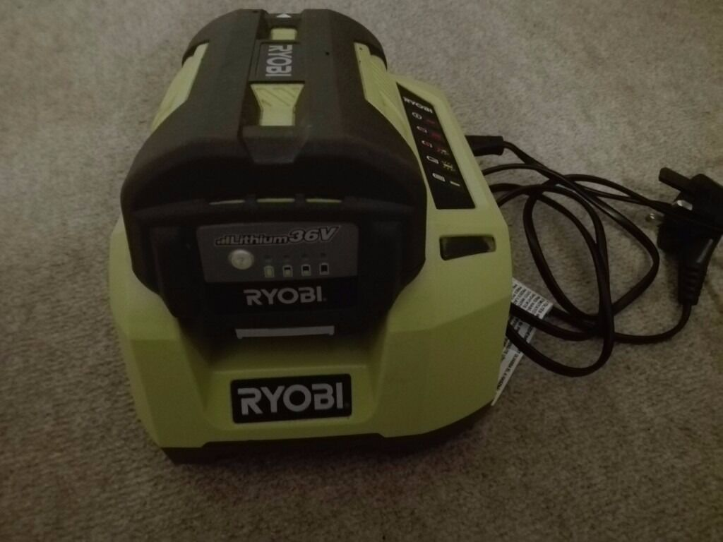ryobi 36v lithium battery and charger for cordless hedge trimmer in aberdeen gumtree. Black Bedroom Furniture Sets. Home Design Ideas