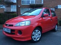 DAIHATSU YRV 1.3 PETROL 70K FULL SERVICE HISTORY CHEAP CARS 5 DOORS SMOKE FREE PERFECT FIRST CAR