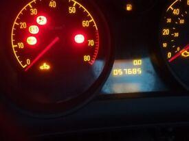 Vauxhall astra dash clocks
