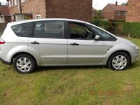 FORD S-MAX LX 1.8 TDCI 2007 Drive away Part Ex Welcome