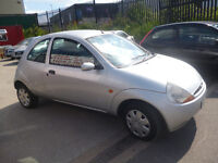 Ford KA Collection,1297 cc 3 door hatchback,clean tidy car,runs and drives well,cheap motoring