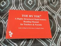 Toe By Toe - A Highly Structured Multi-Sensory Reading Manual for Teachers and Parents