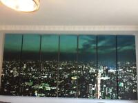 Extra large city canvas