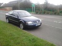 VW Passat Highline TDI Automatic Blue Leather interior