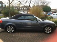 Gorgeous Audi A4 2.4 Automatic Cabriolet REDUCED
