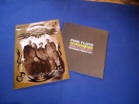 2 Tour Programmes; EAGLES 2006 & BRIT FLOYD 2011