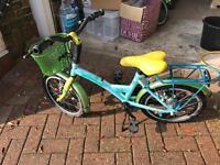 child's bike Batavus Dutch style pedal back