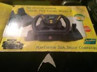 For sale a ps2 steering wheel