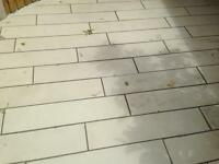 Sawn plank paving