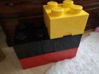 Large Lego Brick storage boxes