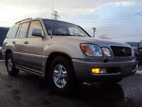 1999 Lexus LX 470 AWD LEATHER 7 PASS SUNROOF HEATED SEATS