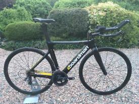 Boardman Elite Air 9.8 Carbon TT Triathlon Bike Shimano Sram Ultegra Force giant trek specialized