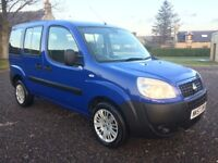 FIAT DOBLO 1.3 DIESEL DISABLED WHEELCHAIR ADAPTED WAV MPV ESTATE 66K FSH PX AND NATIONWIDE DELIVERY