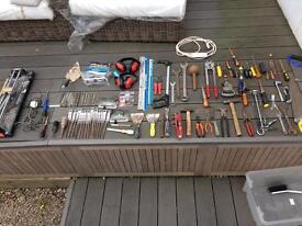 Hand tools job lot