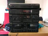 Technics Stereo System! With Record Player