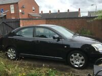 Black Toyota Avensis 2006 great condition
