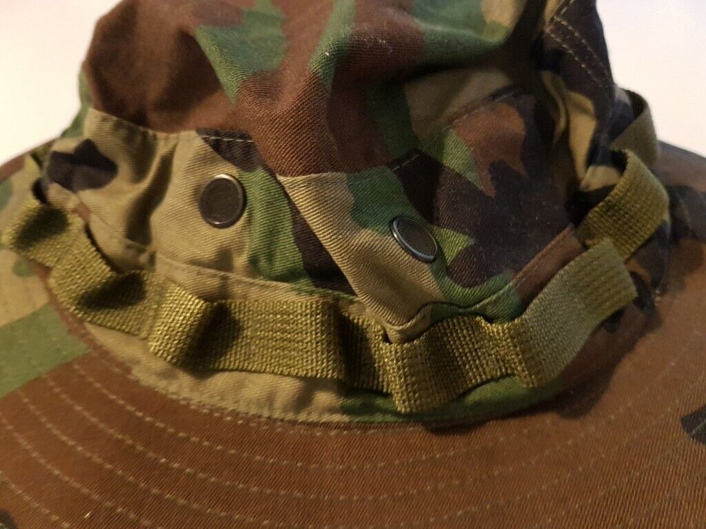NEW !!! MIL-SPEC-H-43577 Hat Sun Hot Weather Type II Camo Camouflage Hat  Size 7 1 2 USA fc2611bacdc4