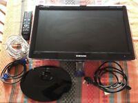 Samsung P2270HD 22-inch Full HD 1080p LCD TV/Monitor