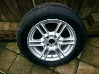 X1 Ford mondeo mk 2 alloy wheel with tyre £70 ovno