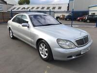 MERCEDES BENZ S500 LIMOUSINE # EXCELLENT CONDITION THROUGHOUT # FULLY LOADED # HPI CLEAR