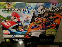 Nintendo Wii u 32gb with games and 2 extra controllers