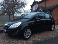 Vauxhall Corsa 1.4 SE 5 door black