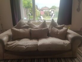 3 and 4 seater sofa set