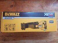 Brand New Dewalt DCS388 54V XR Flexvolt Recip Saw