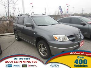 2006 Mitsubishi Outlander LS | 2WD | GET APPROVED TODAY
