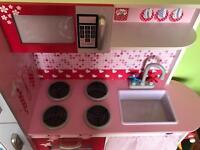Plum children's kitchen like new