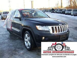 2012 Jeep Grand Cherokee OVERLAND 4X4 V6 3.6L FULL EQUIPPE MAG C