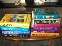 8 Miller's Antique Guides 1981 - 1997 plus two other guides