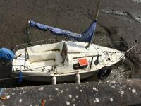 "Leisure 17"" sailing boat"