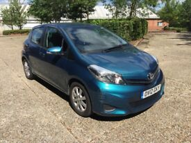 2012/12 TOYOTA YARIS 1.4 D4D 5 DOOR 1 OWNER FROM NEW FULL SERVICE HISTORY BARGAIN