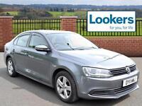 Volkswagen Jetta SE TDI BLUEMOTION TECHNOLOGY (grey) 2011-03-23