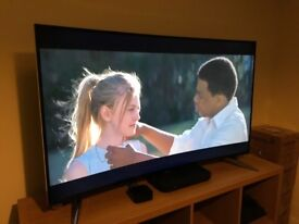 Panasonic 4K 55 Inch ultra HD Curved LED Television - Like New