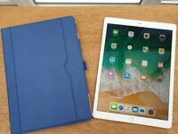 2017 Apple iPad Pro 12.9 inch Wifi and Cellular Model With Case