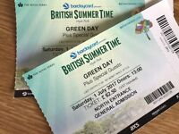 GREEN DAY - 1st July - British summertime concert - Hyde park