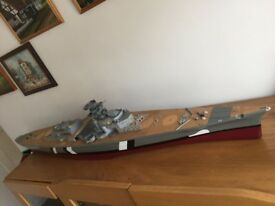 Bismarck model ( Amati ) 1:200 scale