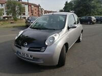 WANTED TO SELL 05-2005 MICRA URBIS 1240cc MARCH 2021 MOT=£795.00 P,EX 2 CLEAR!!!